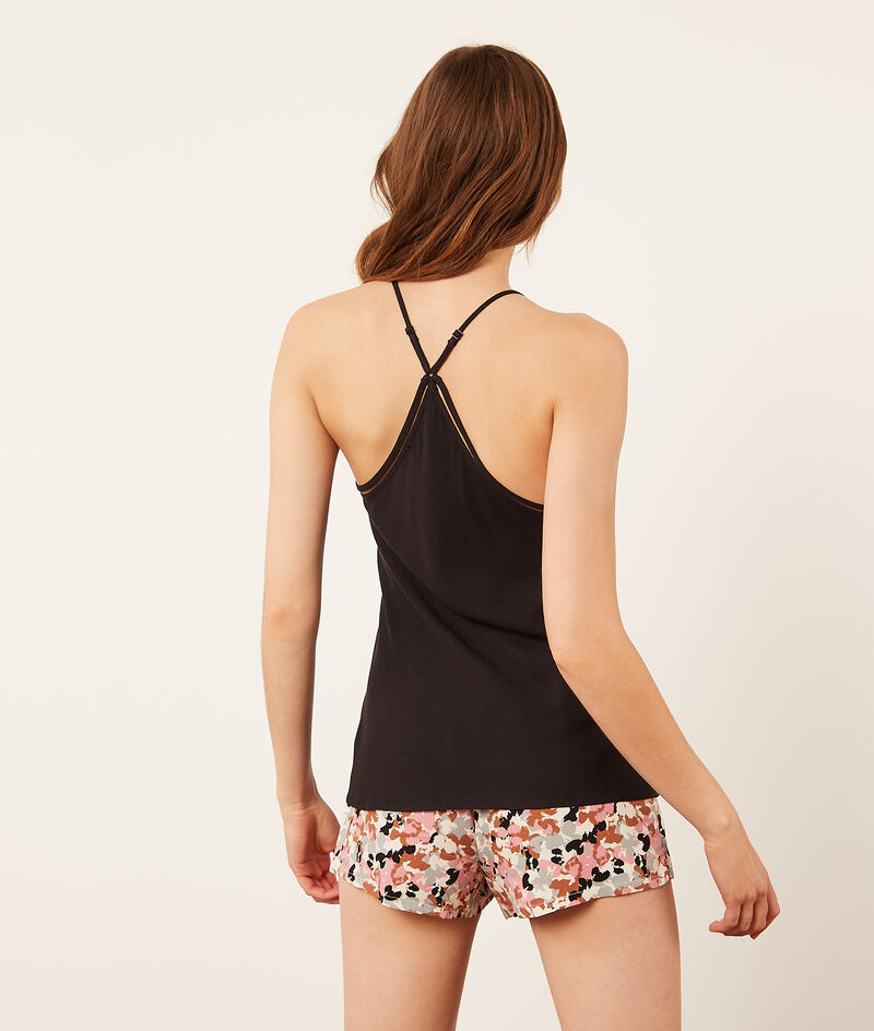 Top with thin straps;${refinementColor}