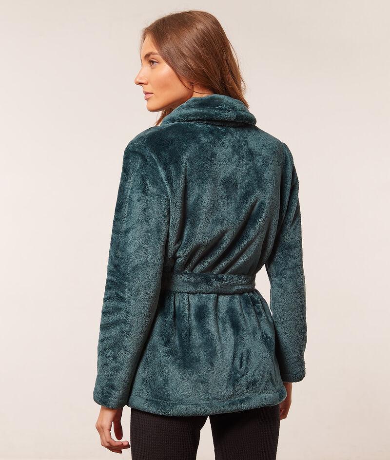 Fleece jacket to tie ;${refinementColor}