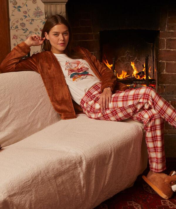 hiberner pour mieux rêver' three pieces pyjama