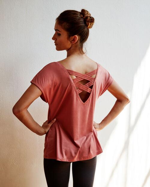 Open back T-shirt