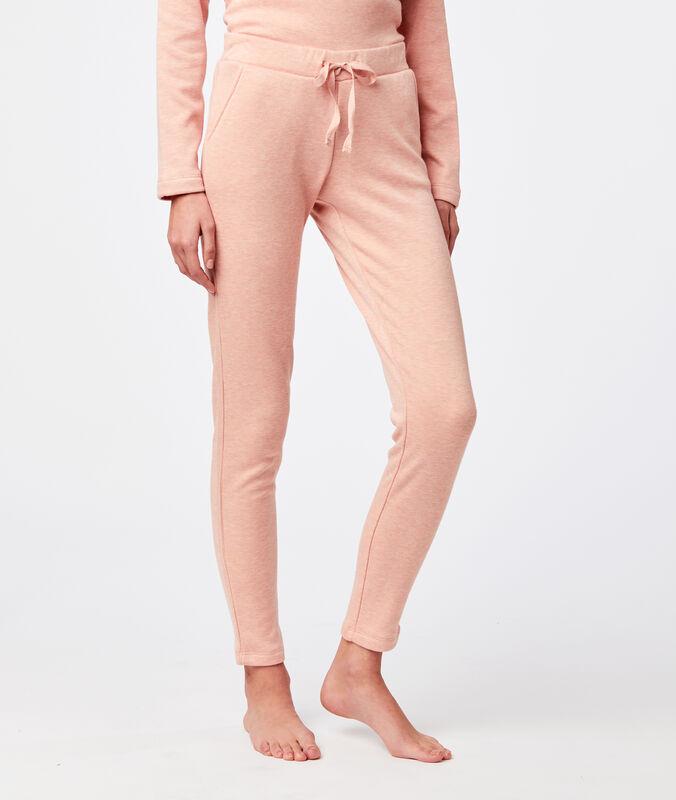 Pantalon homewear rose.
