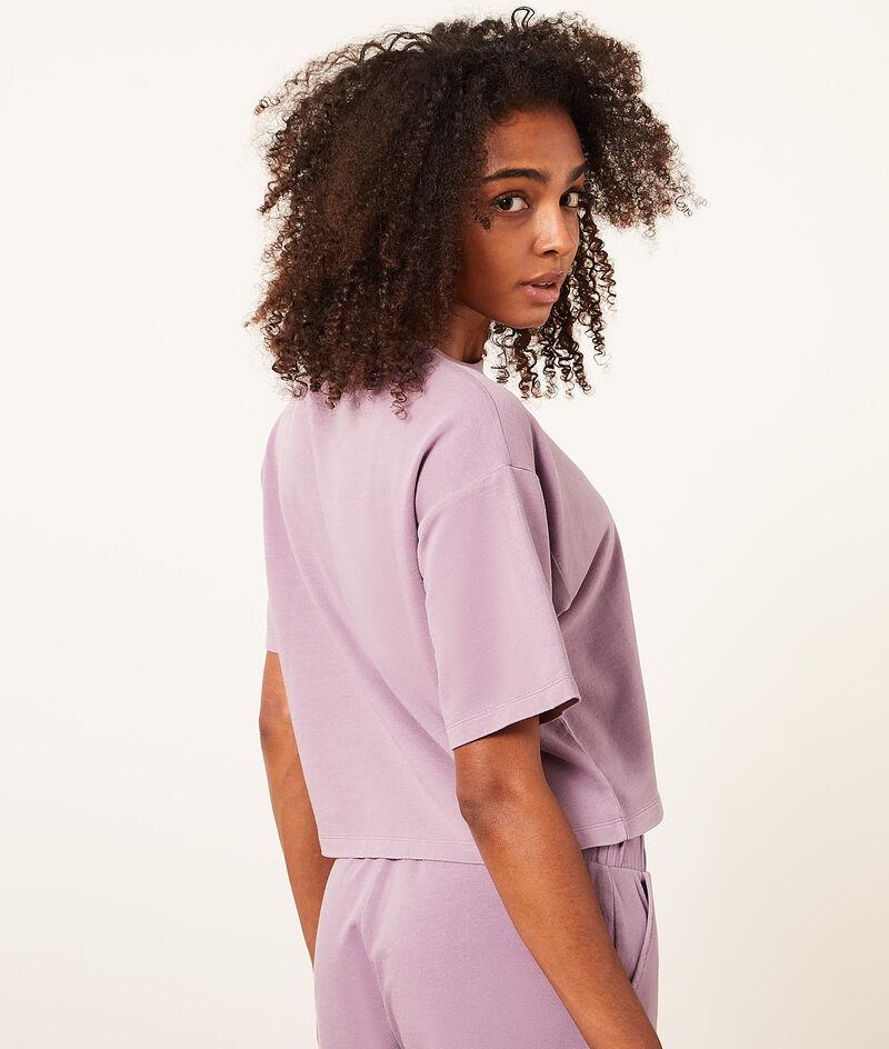 Short-sleeved top;${refinementColor}
