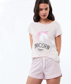 Shorts pink.