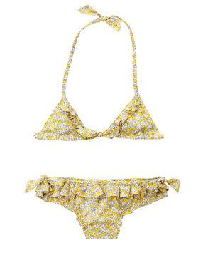 Swimwear yellow.
