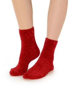 Socks red.