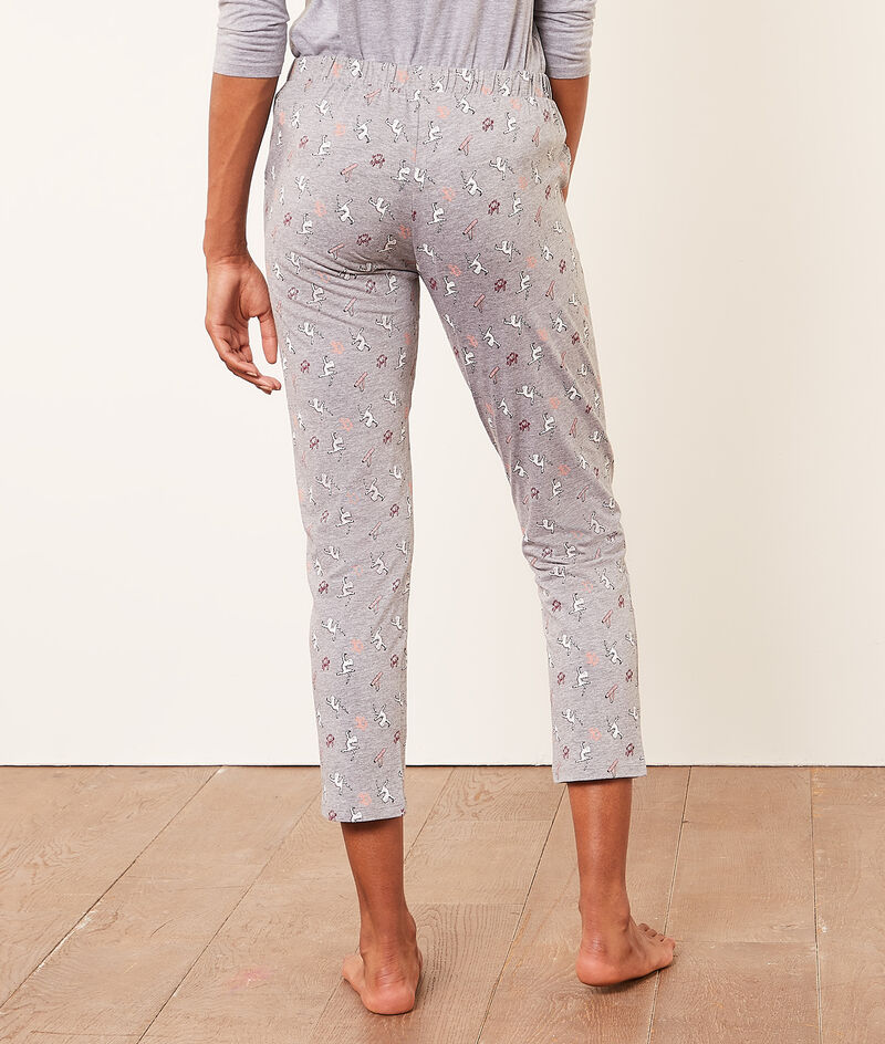 Print pyjama bottoms;${refinementColor}