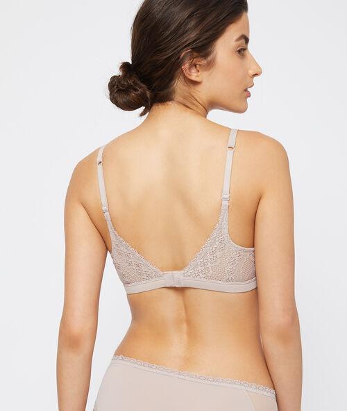 Classic padded lace bra
