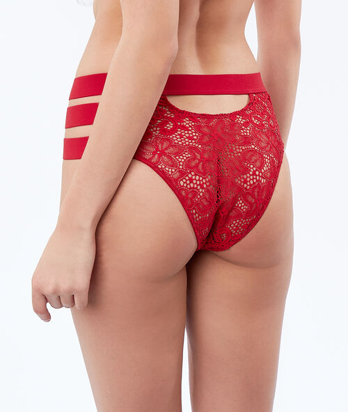 High-waist briefs with 3 bands