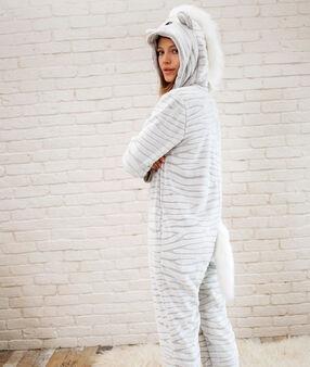 Zebra overall grey.
