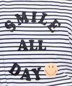 Smiley printed top
