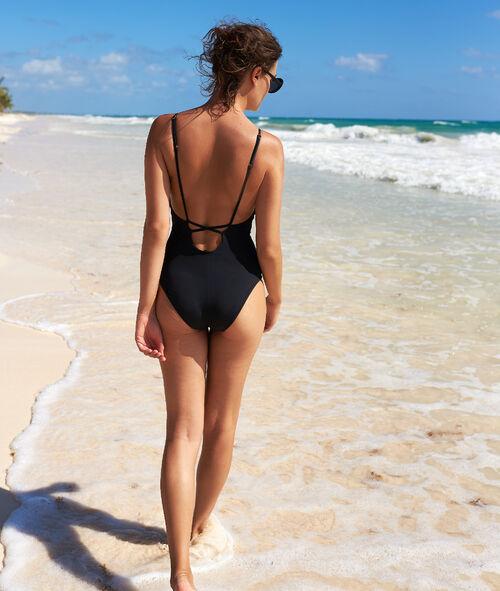 9dc02fd7 Macrame front swimsuit - Etam