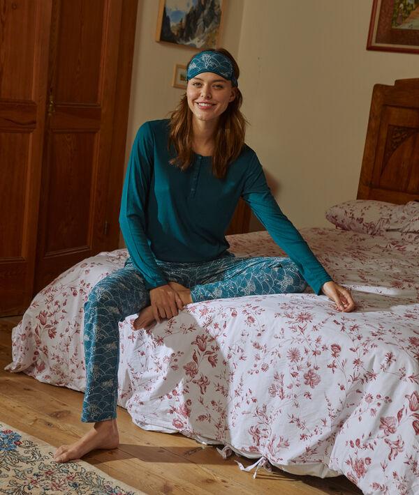 Pyjama and night mask set