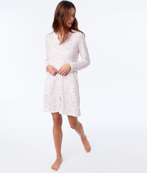 Patterned nightie pink.