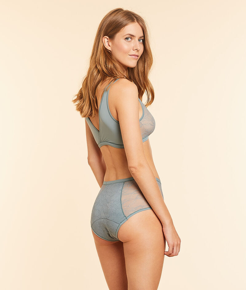 High waist period panty - medium flow;${refinementColor}