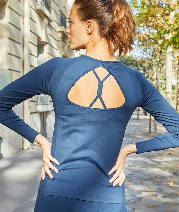 Work out top, open back