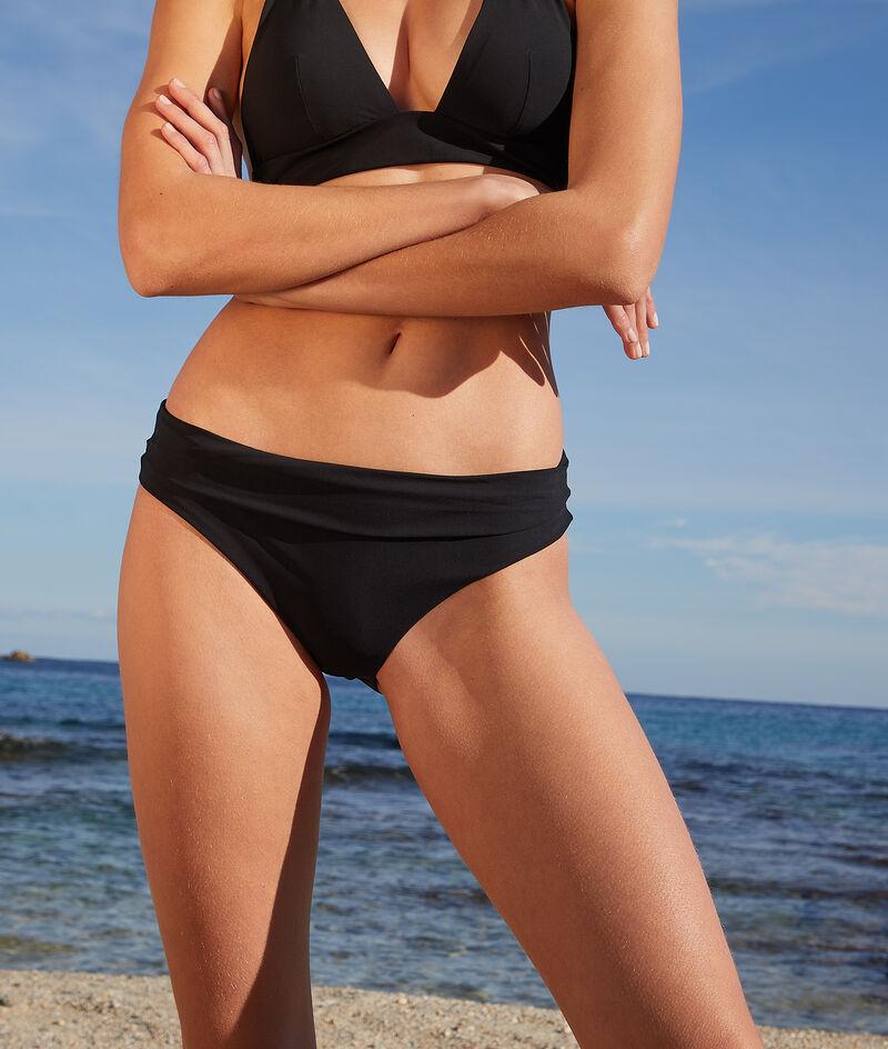 Adjustable waist bikini bottoms;${refinementColor}