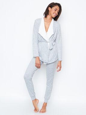 Homewear jacket grey.