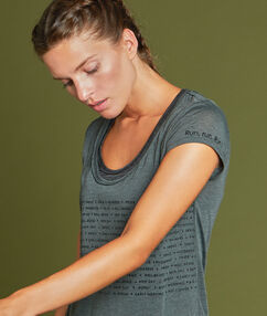 2in1 sport t-shirt khaki.