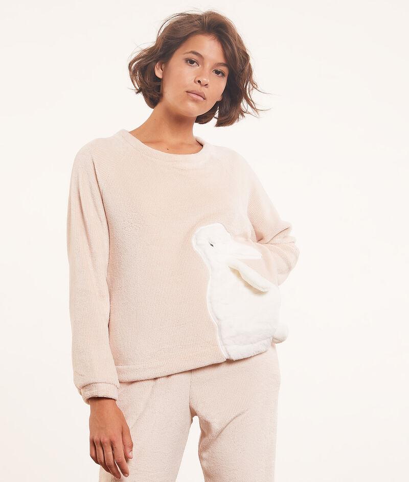 Flannelette long-sleeved top ;${refinementColor}