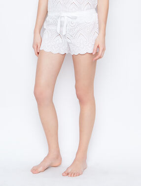 Pyjashort white.