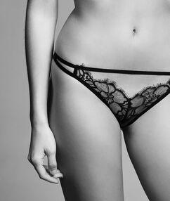 Sexy lace - tanga noir.