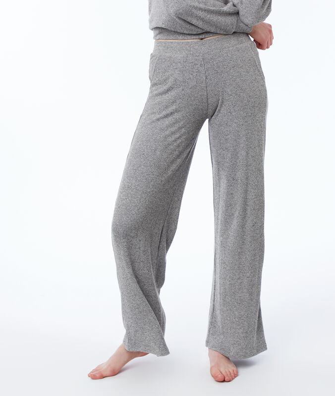 Wide homewear pants gray.