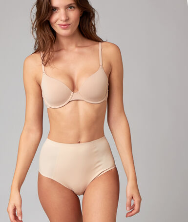 High waist thong: level 3 - figure shaping skin.