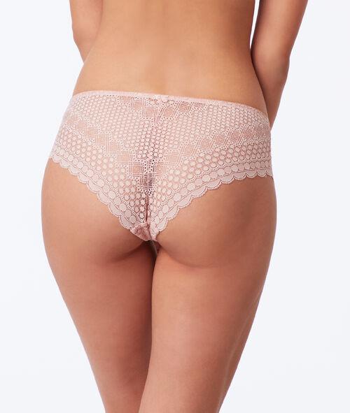 Lace shorty briefs