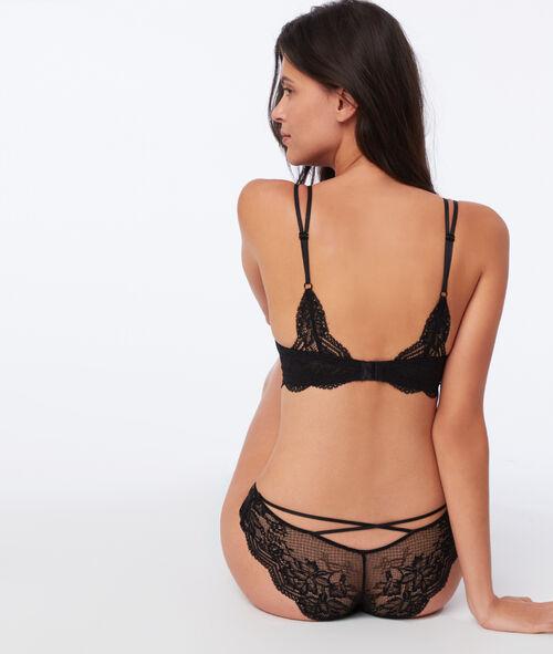 Bra n°5 - Classic padded lace bra