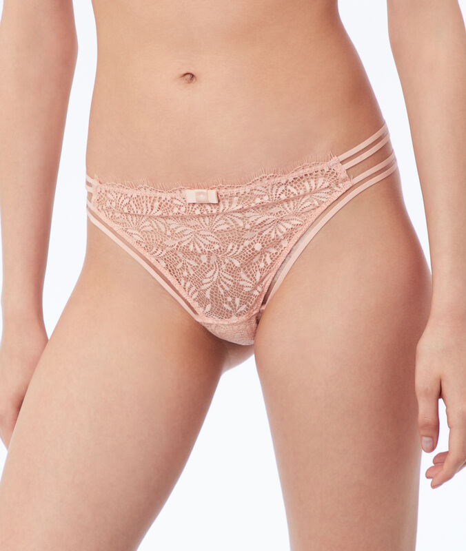 Lace briefs natural.