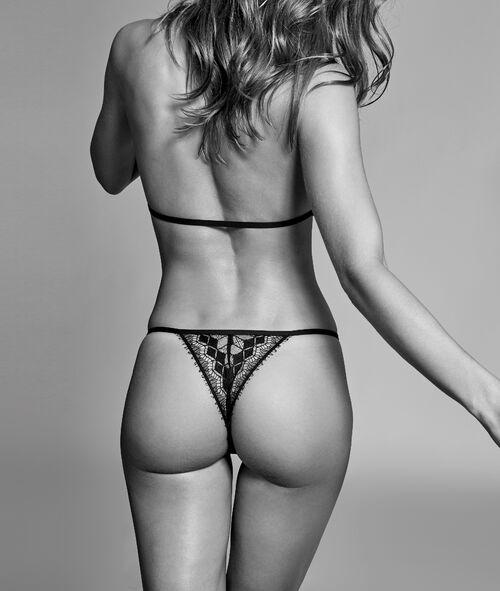 Bodysuit in fine lace