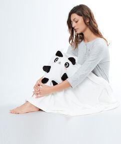 Panda plaid white.