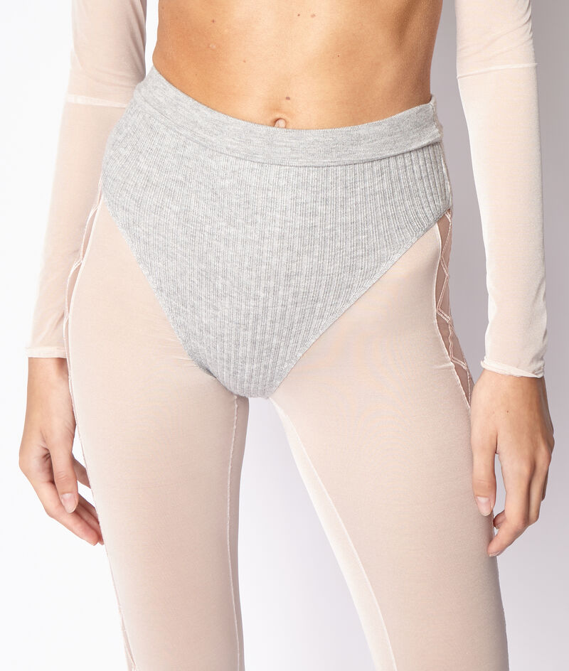 High waist knitted panties ;${refinementColor}
