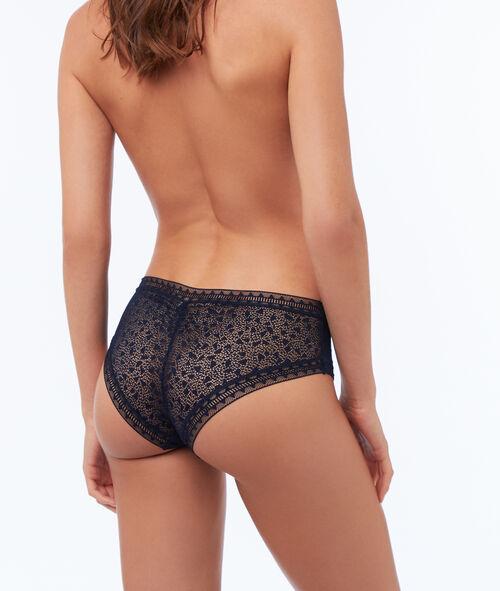 Bi-material shorts