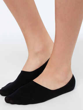 Socken schwarz.