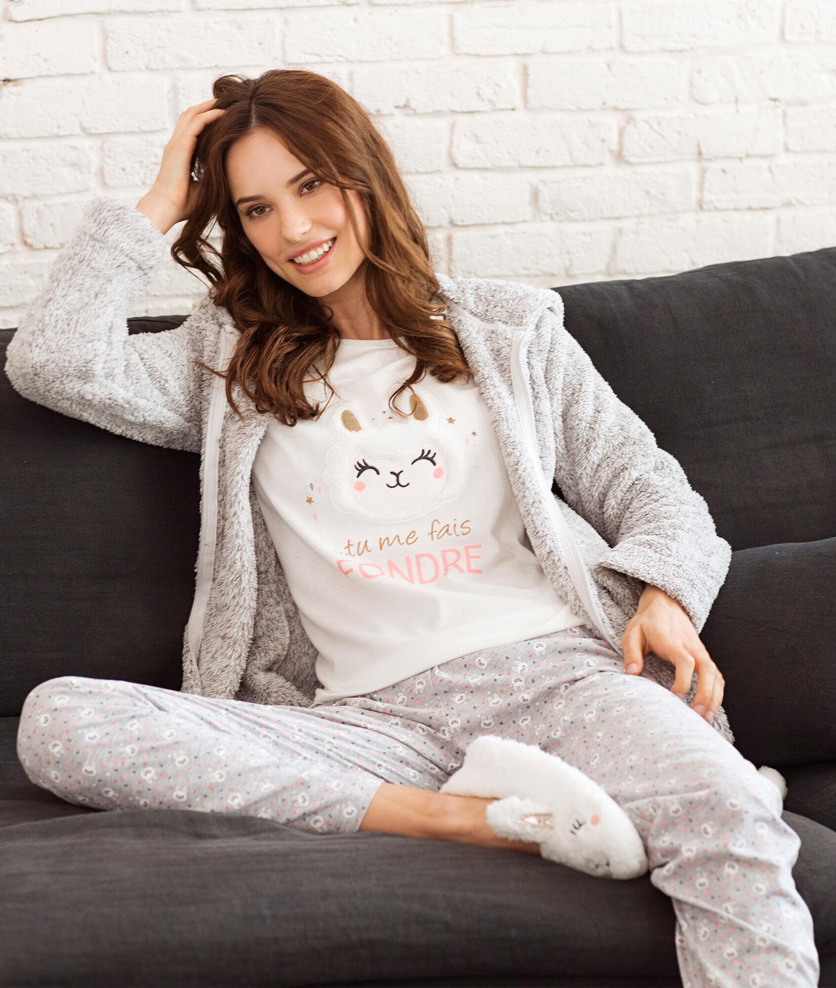 Three Piece Pyjama Set Helza Ecru Etam