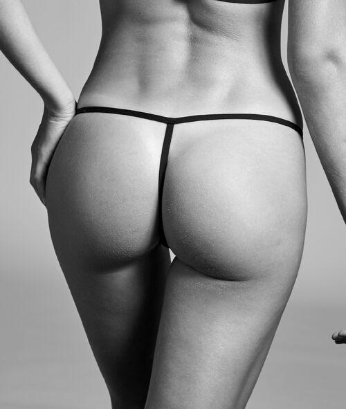 Fishnet thong