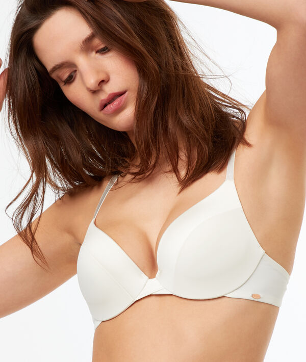 Bra No. 2 - Plunging push-up bra;${refinementColor}