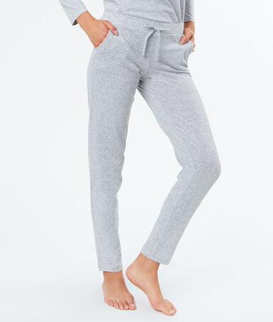 Pyjama bottoms gray.