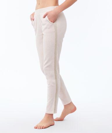 Plan pants pale pink.