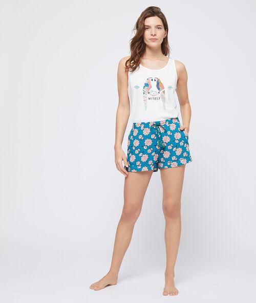 e7b5e210 Floral pyjama short - Etam