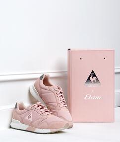Mesh sneaker powder pink.