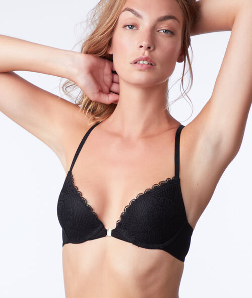 Bra n°2 - push-up bra with lace back