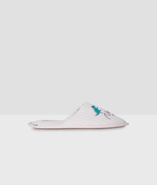 Dino mule slippers