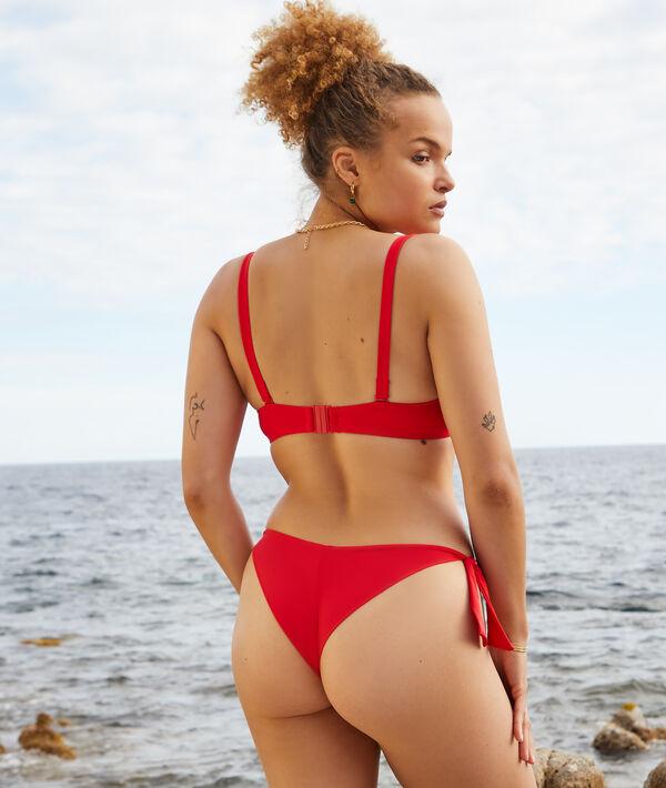 Light padded bikini top;${refinementColor}