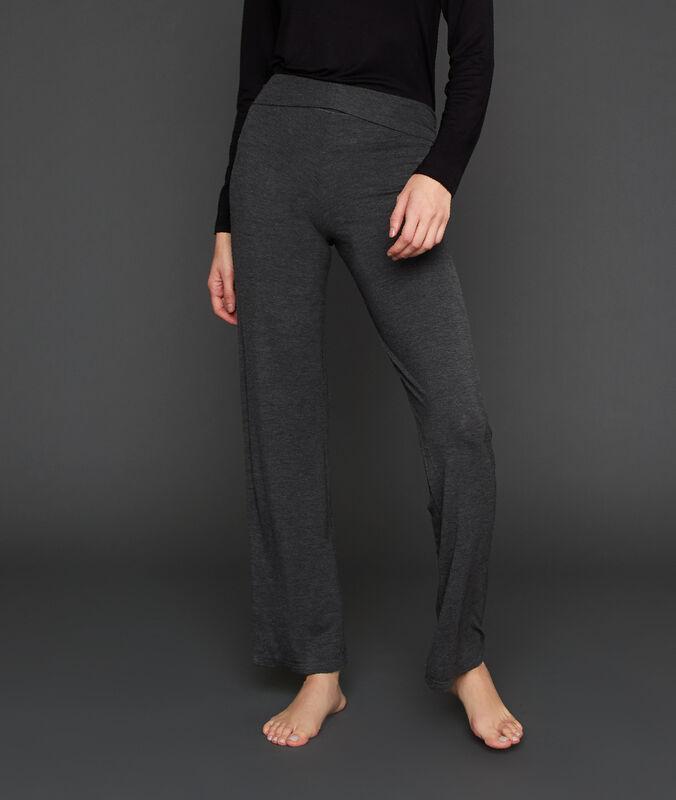 Pantalon homewear anthracite.