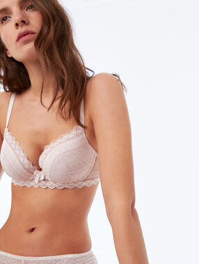 Bra no. 1 - magic up powder pink.
