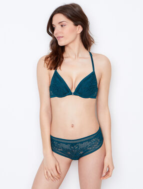 Push-up-bra green.