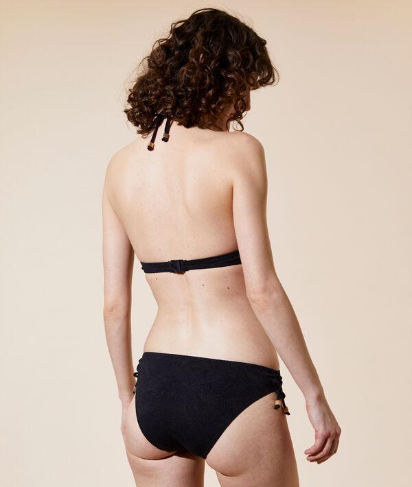 Triangle bikini top, thin cups;${refinementColor}
