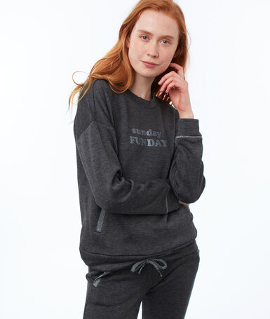 Statement sweatshirt gray.